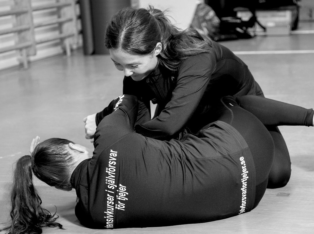 Självförsvar för tjejer i Uppsala och Stockholm
